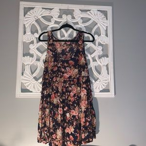 American Eagle A line floral dress